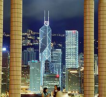 Victoria Harbour, Hong Kong by Anthony Woolley