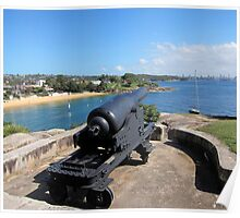 FIRING UP - CAMP COVE SYDNEY HARBOUR Poster
