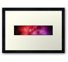 SECT Framed Print