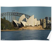 Sydney Opera House at Sunrise Poster