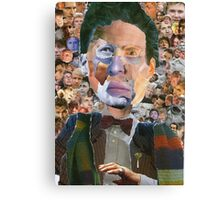 The Doctor Has Many Faces Canvas Print