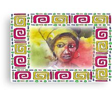 African woman - Ethnic series Canvas Print