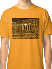 Beautiful courtyard with arches Classic T-Shirt