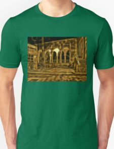 Beautiful courtyard with arches T-Shirt