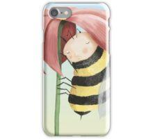Sleepy Bee iPhone Case/Skin