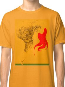 Hot Red Vestle Classic T-Shirt