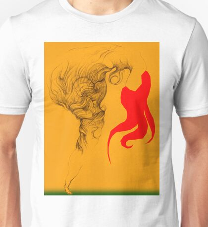 Hot Red Vestle Unisex T-Shirt