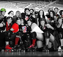 Theres no sorry in roller derby by HennaGoddess