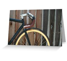 Fixed Gear Greeting Card