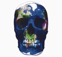 Earth Skull  One Piece - Short Sleeve