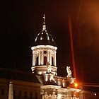 Church Cathederal at Night - Arad, Romania by Slaughter58
