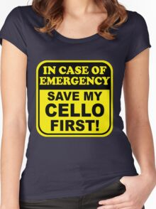 Cello Emergency Women's Fitted Scoop T-Shirt