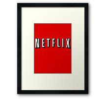 Netflix Framed Print