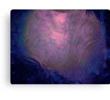 Oil & Water #4 Canvas Print