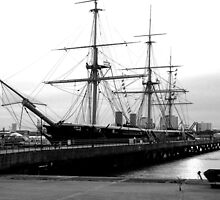 HMS Warrior 1860 by Emily King