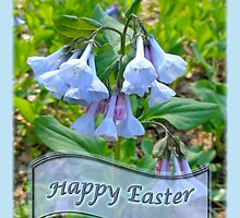 Easter Card - Virginia Bluebells by MotherNature