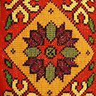 Folk Art Cross Stitch by BettyBanana