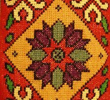 Folk Art Cross Stitch by BettyBanana