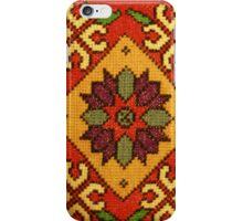 Folk Art Cross Stitch iPhone Case/Skin