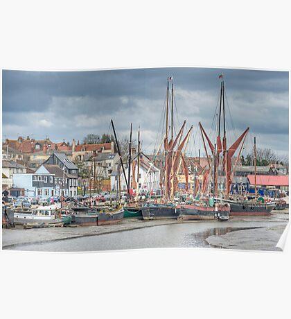 Maldon Harbour Poster