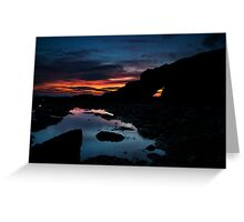 Cullercoats Sunrise Greeting Card