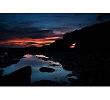 Cullercoats Sunrise Photographic Print