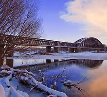 Old Garmouth Railway Bridge by Jo Miller