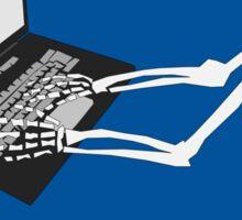 Skeleton Social Media Sticker