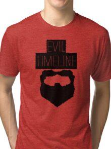 Evil Timeline Tri-blend T-Shirt