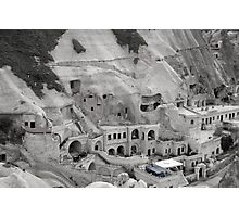 Some people live in caves - Turkey Photographic Print