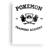 Pokemon Trainers Academy  Metal Print