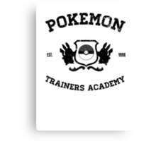 Pokemon Trainers Academy  Canvas Print