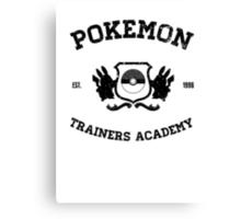 Pokemon Trainers Academy  Canvas Print