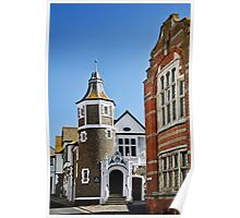 The Guildhall ~ Lyme Regis Poster