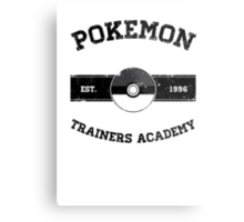 Pokemon Trainers Academy Metal Print