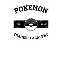 Pokemon Trainers Academy Photographic Print