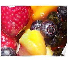 fruit n honey Poster
