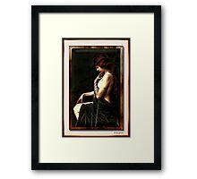 Miss. Abigail Framed Print