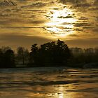 Sunset in Winter Time by flashcompact