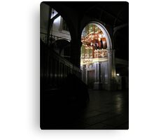 Moreau-orgel St. Janskerk Gouda from another Point of View Canvas Print
