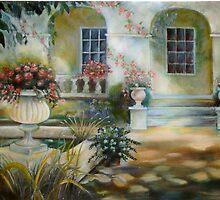 Italian Villa by geri jones