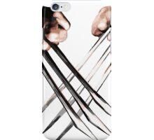 wolverine design t-shirt iPhone Case/Skin