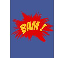 BAM! Photographic Print