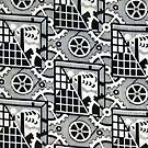 B&W Soviet Design by BettyBanana