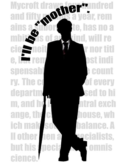 the indispensable Mycroft Holmes by kjen20
