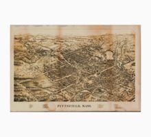 Panoramic Maps Pittsfield Mass One Piece - Long Sleeve