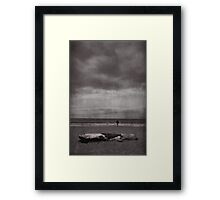When You're All Alone In This Life Framed Print