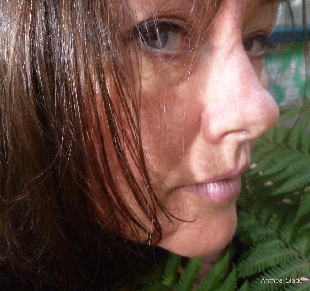 Just Love Self Portrait by Anthea  Slade