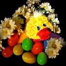 Egges In A Ducky Sort Of A Way by Linda Miller Gesualdo