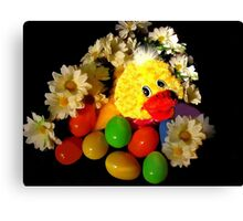 Egges In A Ducky Sort Of A Way Canvas Print